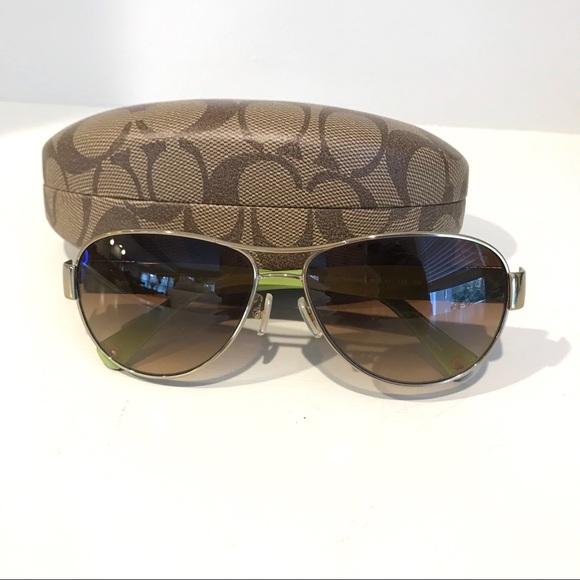 099a2189bc6d Coach Accessories | Charity Aviator Sunglasses | Poshmark